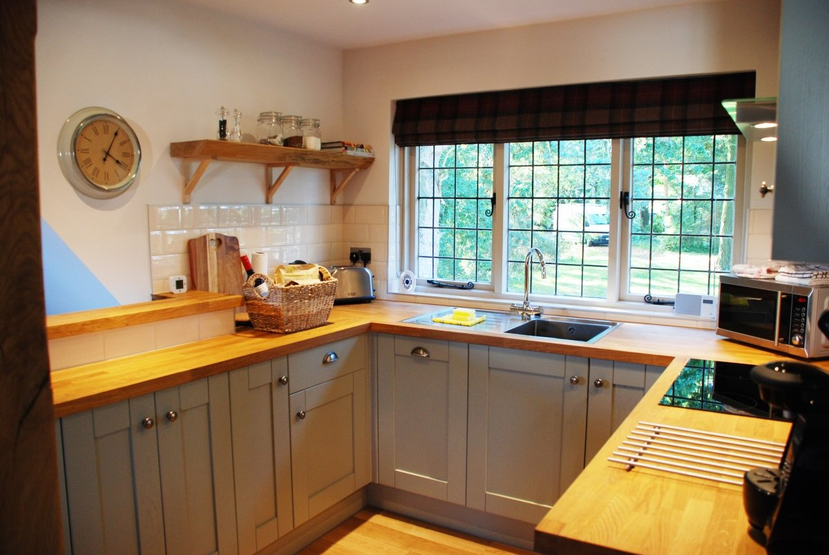Luxury cottages and apartments near dundee fife for Luxury kitchens scotland