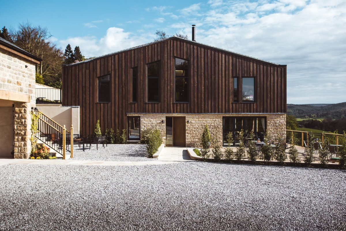 cattle shed, peak district | luxury contemporary house