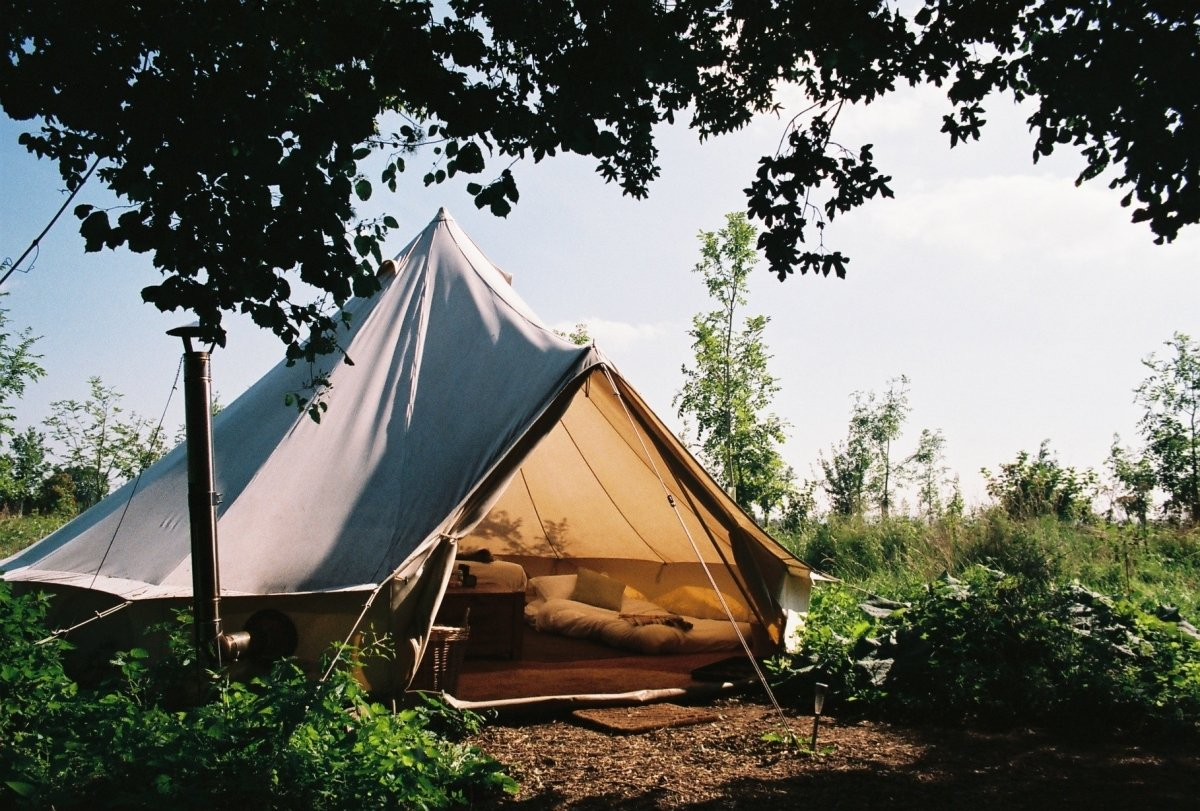 Woodland Luxury Glamping Site Near Bath Wiltshire