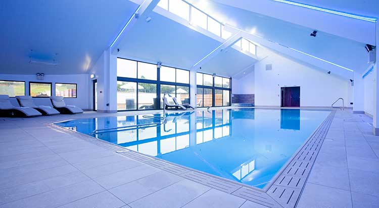 Luxury holiday cottages near bude cornwall for Heated pools for sale