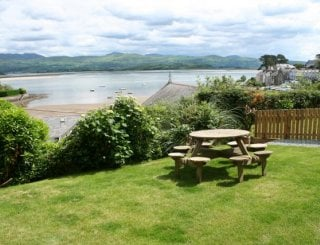 Front Garden with Spectacular Sea & Mountain Views
