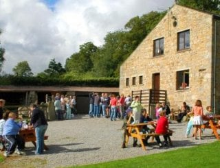 The Granary Barn used by a visiting group