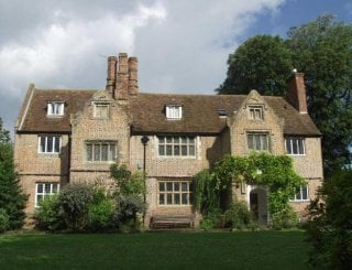 Front of our beautiful Elizabethan house
