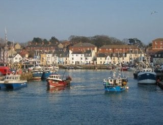 Weymouth Harbour - one minute walk away