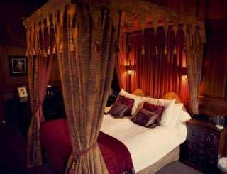 The Hall's Four Poster Bedroom