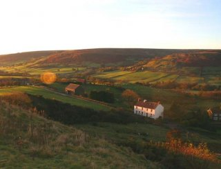 The Orange Tree - looking towards Rosedale Abbey