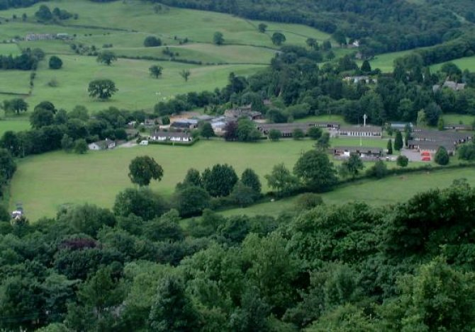Aerial view of Centre