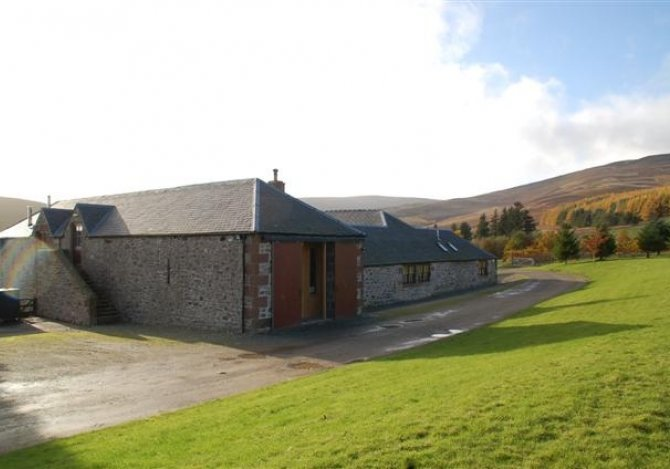 Pearsie Lodge - External view