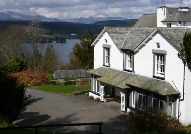 Main House - Windermere beyond.