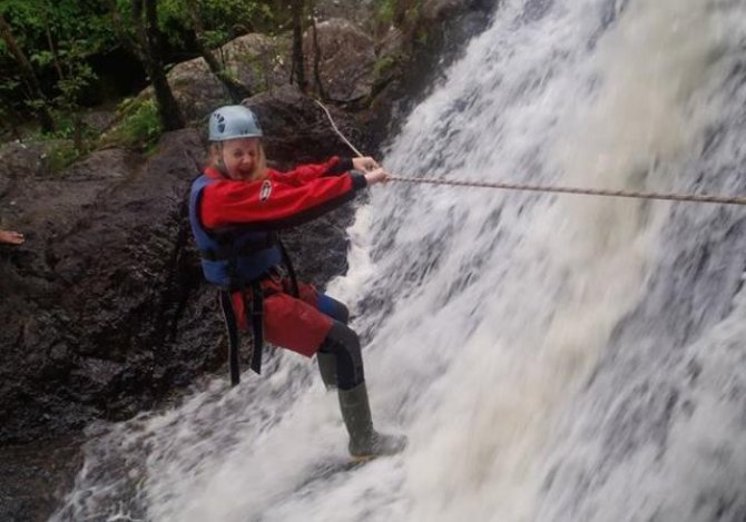 Gorge Walking fun