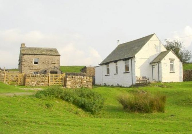 Greenslack cottage and the Schoolhouse