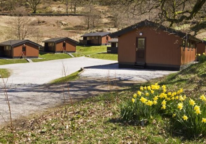 Lodges 1 to 6 and Car Park