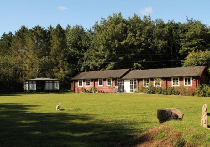 Woodland Lodge and grounds