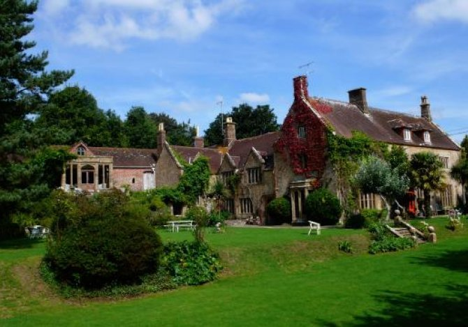 Symondsbury Manor near Bridport in Dorset