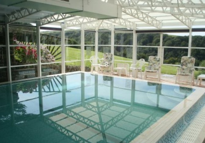 The pool at Swallows Rest