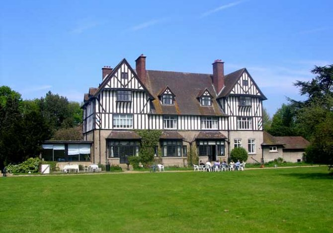The Dower House and Back Lawns