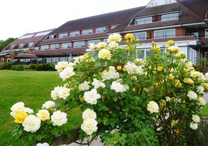 London Beach Country Hotel from the Golf Course