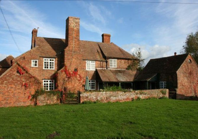 Rear view of Woodend Farmhouse