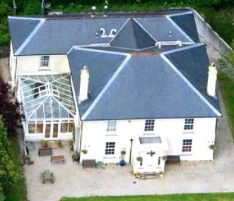 The Manorhouse from the air