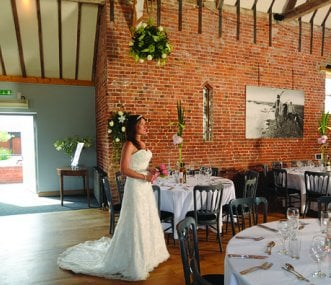 18th Century Wedding Barn with vaulted roof