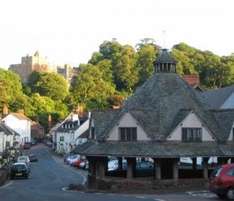 The Medieval Yarn Market and Dunster Castle