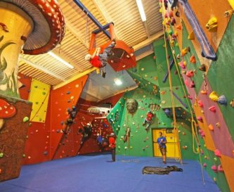 The award-winning Indoor Climbing Centre