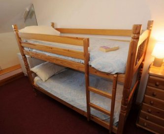 The Lodge - One of our bunk bedrooms