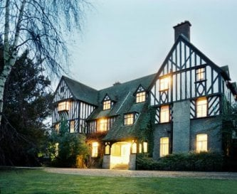 Front of The Dower House