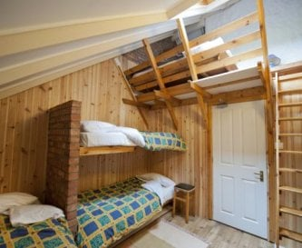 Downstairs Bedrooms with Mezzanine Floor