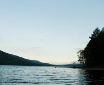 Lake shore location