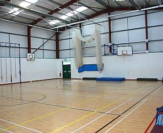 Indoor Sports hall with shower & toilets