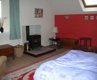 Living room with bed settee