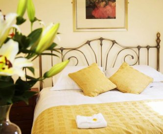 Luxury beds and bed linens