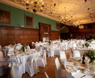 The Great Hall - Wedding Reception awaits
