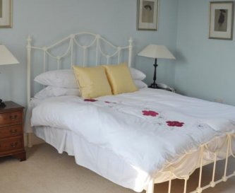 One of the bedrooms at Honeymead Farmhouse
