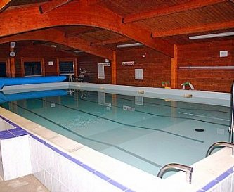 Heated Indoor Pool with showers & toilets