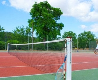 A private Tennis court - racquets & balls provided