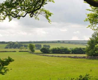 One of the lovely views from the farmhouse