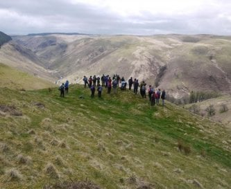 Scenic walks of the Cambrian Mountains