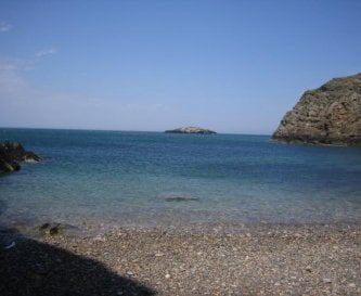 Llanlliana Cove ideal for private BBQ's & bathing.