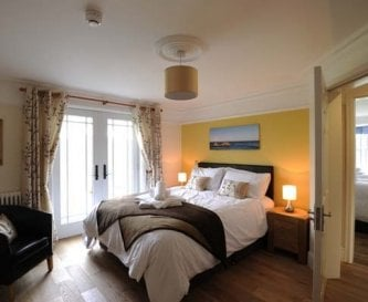 Llanlliana suite with balcony, rain shower & views