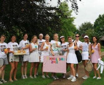 Play tennis, ping pong, croquet, explore the farm