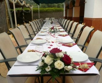 Dining area perfect for special occasions/parties