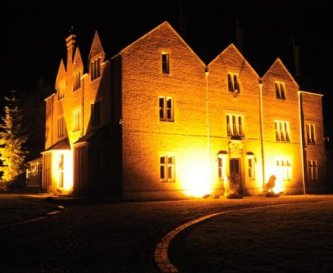 The Victorian Hall all lights at Night