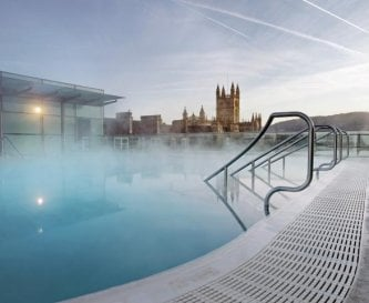 The Thermae Bath Spa is just a 5 minute walk.