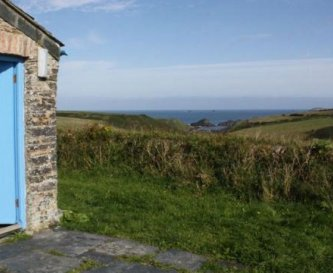 Overlooking Porth Mear