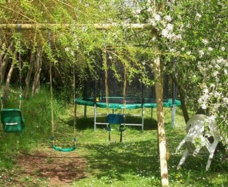 Childrens area behind Shippon