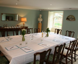 Dining Room-12-14 Boardroom Style. Also Dining Are