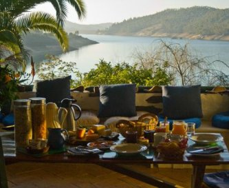 Breakfast - with a view to die for!