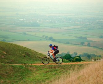 Cycling on Bredon Hill